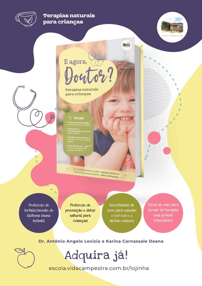 Ebook: E Agora, Doutor? Terapias Naturais para Crianças